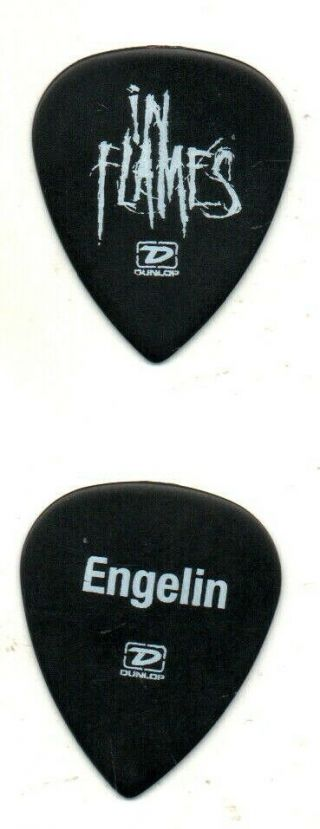 (( (in Flames))  Guitar Pick Picks Plectrum Very Rare 1