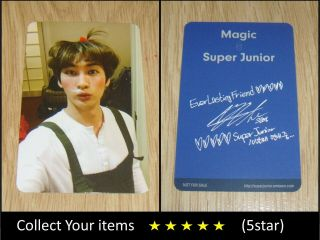 Junior 10th Anniversary Album Part.  2 Magic Eunhyuk Official Photo Card