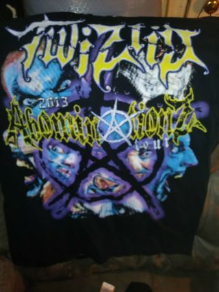 Twiztid 2013 Abomination Tour T Shirt M
