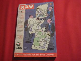 Raw Comics Vol 2 2 Joost Swarte Henry Darger Chris Ware Art Spiegelman