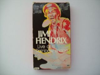 "Jimi Hendrix "" Live At Rainbow Bridge "" Vhs"