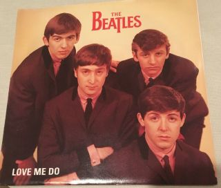 Beatles Love Me Do 1992 Promo 45