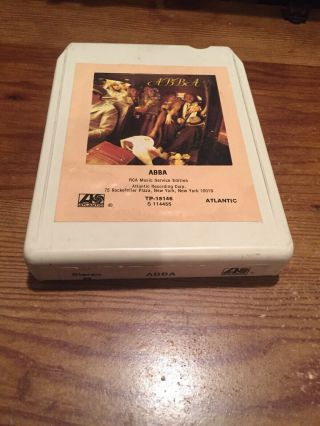 Abba/ 1975 Polar Records 8 Track Tape