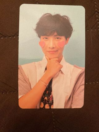 Bts J - Hope Official Photocard Answer F