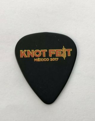 Knotfest Guitar Pick Ticket Shirt Ozzfest Hellfest Warped Tour France Cd Vinyl