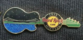 Hard Rock Cafe Istanbul Guitar Pin