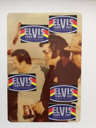Vintage Candid Photo Of Elvis At Airport With Joe Esposito And Colonel Parker