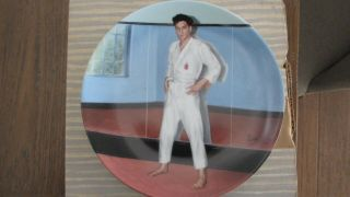 """ Going For The Black Belt "" Elvis Presley Collector Plate 7826a"