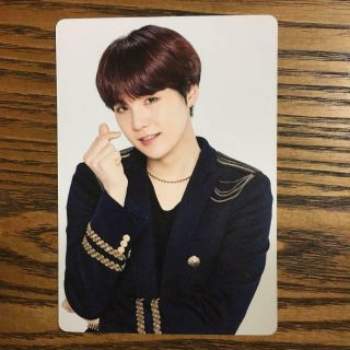 Bts Suga Mini Photo Photocard Speak Yourself World Tour Japan Official Sys Fc 4