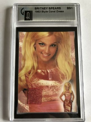2002 Operation Swatchit Britney Spears Authentic Dress Piece