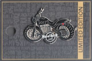 Hard Rock Cafe Pin: Myrtle Beach 2017 Motorcycle Le300
