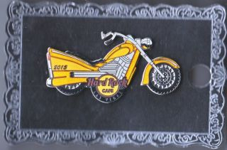 Hard Rock Cafe Pin: Las Vegas 2015 Classic Motorcycle Le300