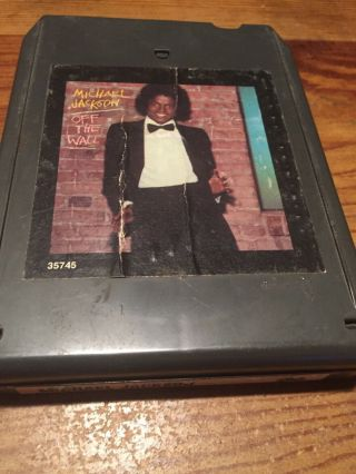 Michael Jackson/ Off The Wall 1979 Cbs 8 Track Tape