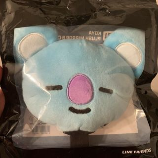 Bts Bt21 Koya Character Plush Mirror & Comb Set Official Authentic