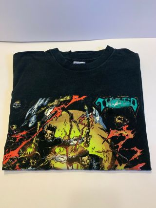 Twiztid Mostasteless Tee Shirt.  Xl.  First Hot Topic Twiztid Tee Style.