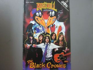 The Black Crowes Comic Rock N Roll Comics 1991 First Printing
