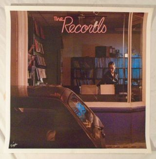 The Records 1979 Promo Poster