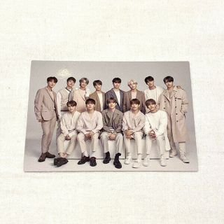 "Seventeen "" Ode To You "" No.  052 Official Photocard World Tour In Japan"