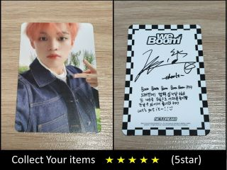 Nct Dream 2nd Mini Album We Boom White Chenle B Official Photo Card