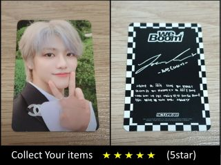 Nct Dream 2nd Mini Album We Boom Black Jaemin A Official Photo Card