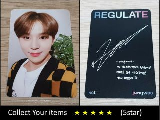 Nct 127 1st Repackage Album Regulate Jungwoo Official Photo Card