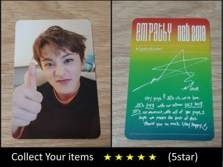 Nct 1st Album Nct 2018 Empathy Dream Color Mark B Official Photo Card