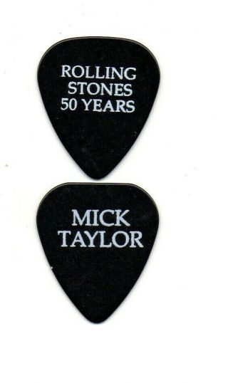 (( (mick Taylor - Stones 50th))  Guitar Pick Picks Plectrum Very Rare 5