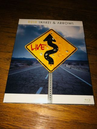 Rush - Snakes & Arrows Live Blu Ray / Blueray / Blu - Ray
