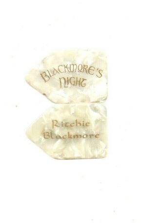 (( (ritchie Blackmore))  Guitar Pick Picks Plectrum Very Rare 10