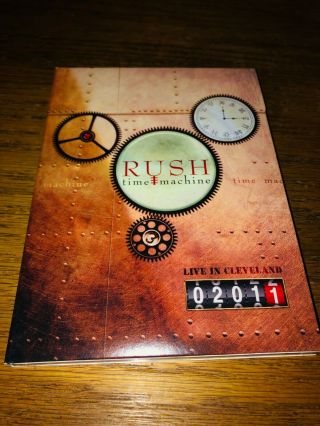 Rush - Time Machine Dvd