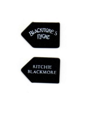 (( (ritchie Blackmore))  Guitar Pick Picks Plectrum Very Rare 3
