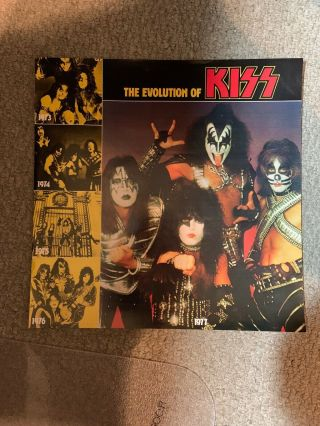 "Kiss Alive Ii Insert ""the Evolution Of Kiss"" 8 - Page Booklet"