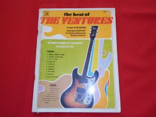 The Best Of The Ventures Sheet Music Book 1966