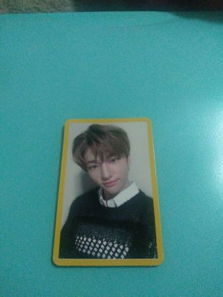Hyunjin Stray Kids Clé 2 Yellow Wood Official Photocard