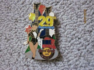 Hard Rock Cafe Train Pin San Francisco 2013 29th Anniversary