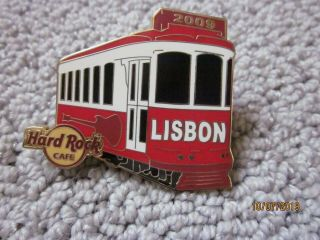 Hard Rock Cafe Lisbon 2009 Train Pin
