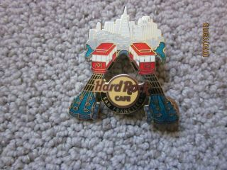 Hard Rock Cafe San Francisco Cable Cars Train Pin