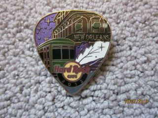 Hard Rock Cafe Orleans Train Pin 2012
