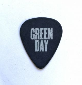 Green Day Guitar Pick 2010 Authentic Tour Hwy 1 Pick.  Billy Joe Armstrong Pick