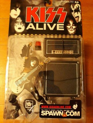 Kiss Alive Paul Stanley Mcfarlane Toys Figure Starchild Never Opened
