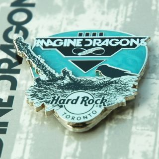 Hard Rock Cafe Toronto 2016 Imagine Dragons Park Scene Le Pin Pins Shop Closed