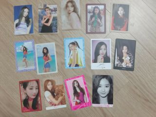 Twice Pre - Order Benefit Photo Card Tzuyu 14pcs