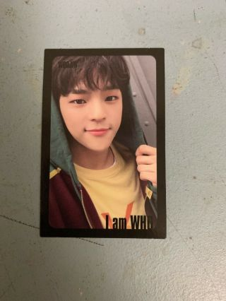 Stray Kids Woojin I Am Who Photocard (black Border)