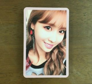 Twice Twicecoaster Lane2 Knock Knock Official Photocard Pink Ver.  - Momo