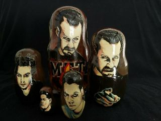 Metallica - 5 Piece Nesting Dolls