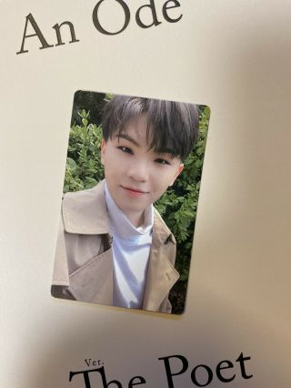 [seventeen] An Ode 독 : Fear Official Photocard / The Poet Ver.  A - Woozi (미소)