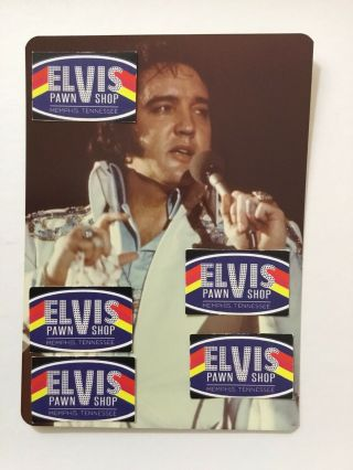 Vintage Candid Photo Of Elvis / Atlanta / 1975 / Hill