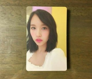 Twice 1st Once Official Photo Card Fanclub Goods - Mina Limited Edition 1pcs