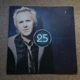 Howard Jones 25th Anniversary Book Rare Oop Usa Ship