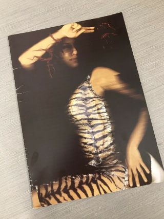 Tori Amos Plugged Tour Book • Concert Program • 1998 • From The Choirgirl Hotel